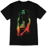 Bob Marley - Rasta Leaves Camisetas