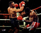Mike Tyson 1996 Action Fotografía