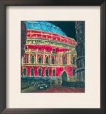 Late Night Performance, Royal Albert Hall, London Prints by Susan Brown