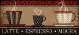 Kaffe Kunst av Jennifer Pugh