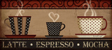 Kaffee Kunstdrucke von Jennifer Pugh