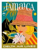 Delta Air Lines: Jamaica Gicléetryck