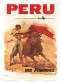 Panagra Pan American-Grace Airways: Peru, c.1946 Posters par Carlos Ruano-Llopis