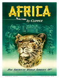 Pan American: Africa by Clipper, c.1950 Pôsters