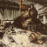 Locomotiva Prints by Antonio Massa