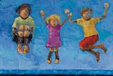 Jump Posters by Rebecca Kinkead