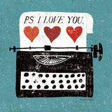 Vintage Desktop: Typewriter Prints by Michael Mullan