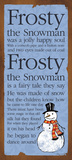 Frosty Poster von Stephanie Marrott