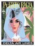 Delta Air Lines: Puerto Rico Prints