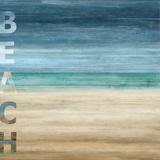 Beach Print by Luke Wilson