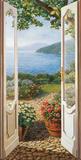 Giardino sul Lago Affiche par Andrea Del Missier