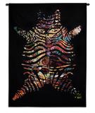 Zebradelic Wall Tapestry