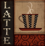 Latte Prints by Jennifer Pugh