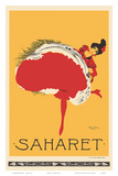 Saharet - Dance Performance Advertisement, c.1902 Prints by Maurice Biais
