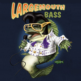Largemouth Bass Prints by Jim Baldwin