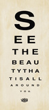 See the Beauty Poster por Stephanie Marrott