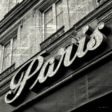 Newsprint Paris Prints by Marc Olivier