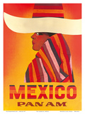 Pan American: Mexico, c.1968 Posters