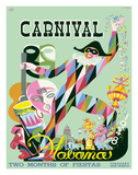 E. Caravia - Carnival Havana: Two Months of Fiestas - Cuba c.1948 - Giclee Baskı