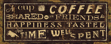 Coffee Quote III Prints