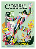 Carnival Havana: Two Months of Fiestas - Cuba c.1948 Prints by E. Caravia