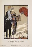 Le Depart Pour Le Casino Pósters por Barbier, Georges