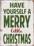 Merry Little Christmas Posters