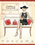 Andrea Laliberte - Wine Event IV - Poster