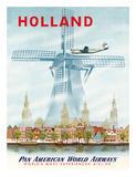 Pan American: Holland, c.1951 Giclee Print