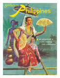 Southern Philippines: An Adventure in Color, Beauty, Rich Contrasts Giclee Print