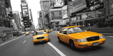 Yellow Taxi, NYC Prints by Ramin Talaie