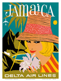 Delta Air Lines: Jamaica Posters
