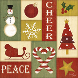 Holiday Sampler II Print by Jennifer Pugh