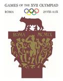 Games of the XVII Olympiad, Roma, c.1960 Impression giclée par Armando Testa