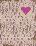 """Vänner, """"Friends"""" Konst av Anna Quach"""