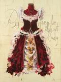 Red Dress Posters by Antonio Massa