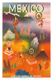 Direccion General de Turismo: Mexico, c.1950 Posters