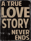 Amour vrai Affiche