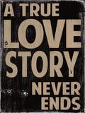 Amor verdadero Lámina