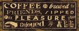 Kaffee-Zitat IV, Englisch Kunst von  Pela