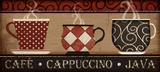 Cappuccino Cafe Affiches par Jennifer Pugh