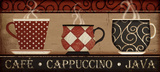 Cappuccino Cafe Posters by Jennifer Pugh
