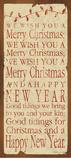 We Wish You Poster par Stephanie Marrott