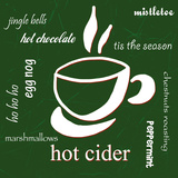 Hot Cider Psters por Anna Quach