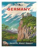 Pan American: Germany der Rhine, c.1950s Giclee Print