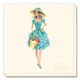 Barbie™, Market Day Stretched Canvas Print by Robert Best