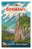 Pan American: Germany der Rhine, c.1950s Prints