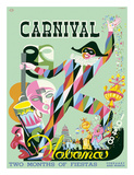 Carnival Havana: Two Months of Fiestas - Cuba c.1948 Lmina gicle por E. Caravia