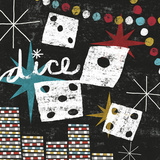 Vegas: Dice Prints by Michael Mullan