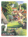 Britain Countryside, c.1950s Posters by S.R. Badmin